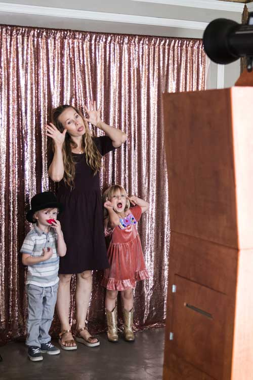 Modern Open Air Booth – Vintage Photo Booth Rentals