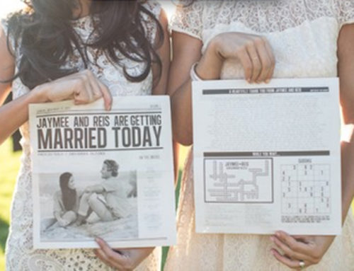 2015 Wedding Trend Newspaper Program
