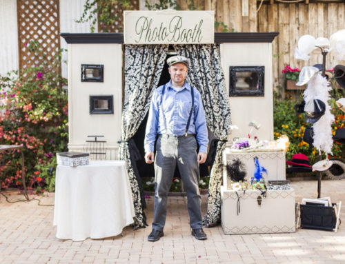 Vintage Photo Booth Rentals at Boojum Tree in Phoenix